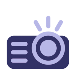 icon of a projector